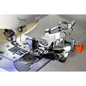 Pied de biche machine à coudre plisseur fronceur mécanique