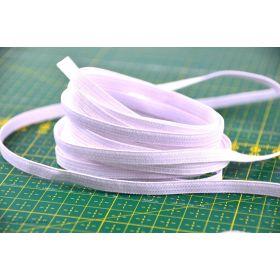Elastique souple de couture blanc 6mm