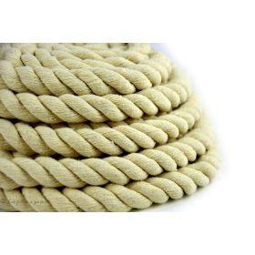 Corde torsadée coton - Ecru