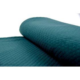 Tissu jersey matelassé - Vert sapin - France Duval Stalla ®