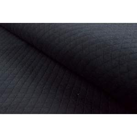 Tissu jersey matelassé - Noir - France Duval Stalla ®
