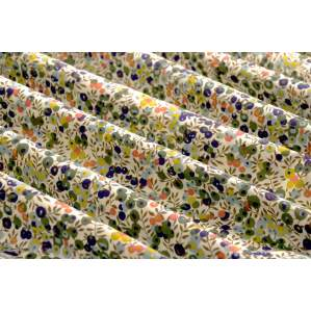 Tissu coton Wiltshire - Kaki et orange - Liberty Of London ®