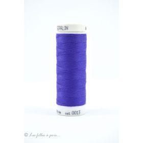 0013 - Fil à coudre Mettler Seralon 200m - coloris bleu