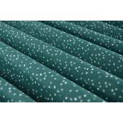 Tissu popeline de coton premium motif croix - Vert forêt - AGF ®