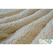 Tissu Teddy-Fourrure Mouton - Ecru - Oeko-Tex ®