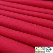 Coupon tissu jersey punto di milano coton uni - Rouge framboise - 40cm Autres marques - Tissus et mercerie - 2