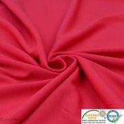 Coupon tissu jersey punto di milano coton uni - Rouge framboise - 40cm Autres marques - Tissus et mercerie - 3