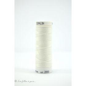 Fil à coudre Mettler ® Seralon 200m - coloris blanc - 2000