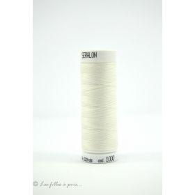 1000 - Fil à coudre Mettler Seralon 200m - coloris blanc
