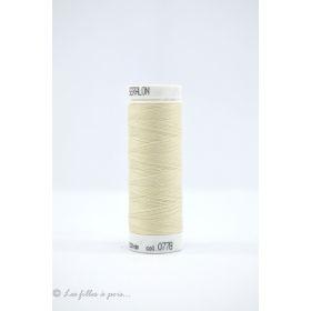 Fil à coudre Mettler ® Seralon 200m - coloris beige - 0778
