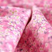 Tissu coton Mitsi Valeria - Rose - Liberty Of London ®