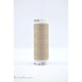 Fil à coudre Mettler ® Seralon 200m - coloris beige - 0537