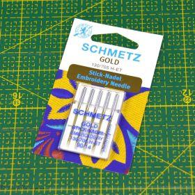 Aiguilles Gold broderie machine à coudre - Schmetz ®