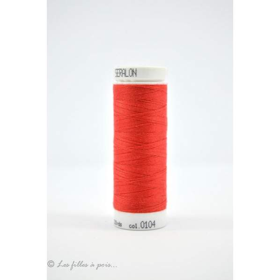 Fil à coudre Mettler ® Seralon 200m - coloris rouge - 0104