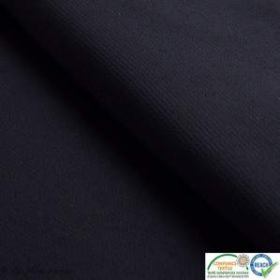Tissu crêpe stretch - Noir - Oeko-tex ®