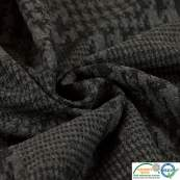 Tissu jacquard motif pied de poule - Gris Autres marques - Tissus et mercerie - 3