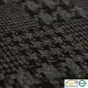 Tissu jacquard motif pied de poule - Gris Autres marques - Tissus et mercerie - 2