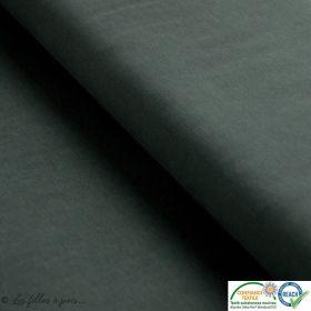 Tissu jersey viscose - Vert kaki - Oeko-Tex ®