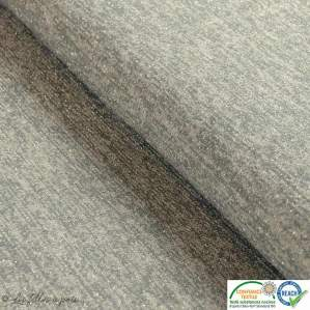 Tissu jersey viscose paillette légère - Gris et argenté