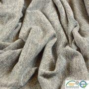 Coupon tissu jersey viscose paillette légère - Gris et argenté - 50cm Autres marques - Tissus et mercerie - 5