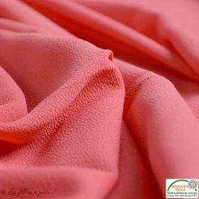 Coton Chevrons gris rouge violet