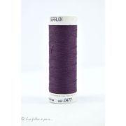 Fil à coudre Mettler ® Seralon 200m - coloris violet - 0477