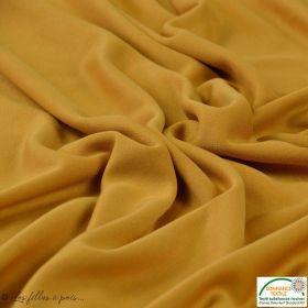 Coton / élasthanne noisette