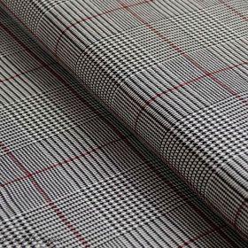 Jersey coton rayé marin noir et blanc