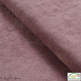 Tissu velours milleraies - Rose - Oeko-Tex ®