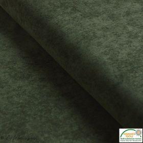 Tissu velours milleraies - Vert kaki - Oeko-Tex ®