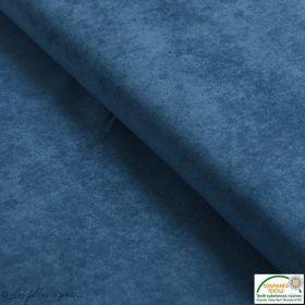 Tissu velours milleraies - Bleu pétrole - Oeko-Tex ®