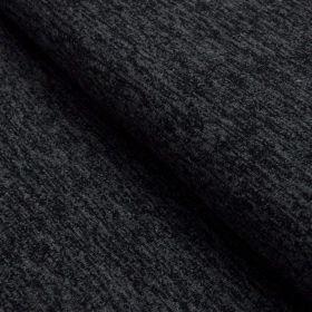 Tissu jersey viscose paillette légère - Gris foncé