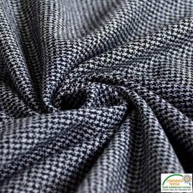 Jersey coton gris foncé