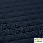 Tissu matelassé jersey - Noir - Oeko-Tex ®