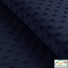 Tissu jersey knitwear jacquard Towel - Noir - Oeko-Tex ® - Stenzo Textiles ®