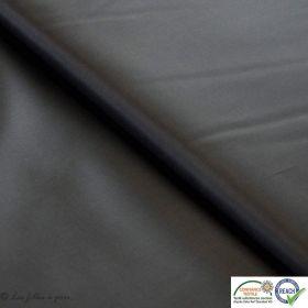 Tissu doublure en pongé - Gris anthracite