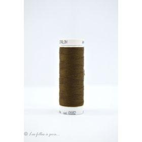 Fil à coudre Mettler ® Seralon 200m - coloris marron - 0182 METTLER ® - 1