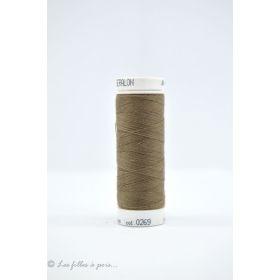 Fil à coudre Mettler ® Seralon 200m - coloris marron - 0269 METTLER ® - 1