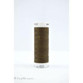 Fil à coudre Mettler ® Seralon 200m - coloris marron - 0523 METTLER ® - 1