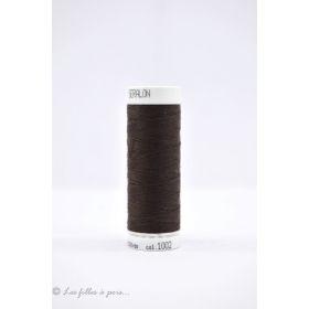 Fil à coudre Mettler ® Seralon 200m - coloris marron - 1002 METTLER ® - 1