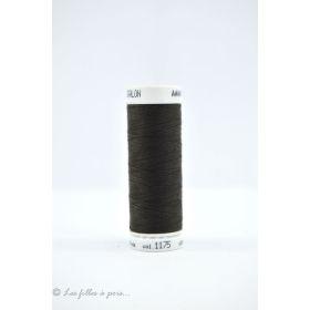 Fil à coudre Mettler ® Seralon 200m - coloris marron - 1175 METTLER ® - 1
