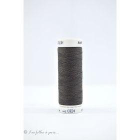 Fil à coudre Mettler ® Seralon 200m - coloris gris - 0324 METTLER ® - 1