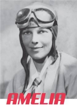 Amelia Earhart - Femme pilote d'avions première à traverser l'atlantique en vol solitaire
