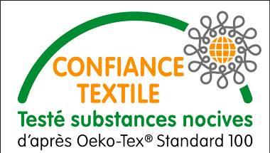 Certificat Oeko-tex 100
